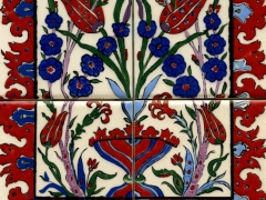 iznik-tile-panel